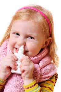 Limpando nariz