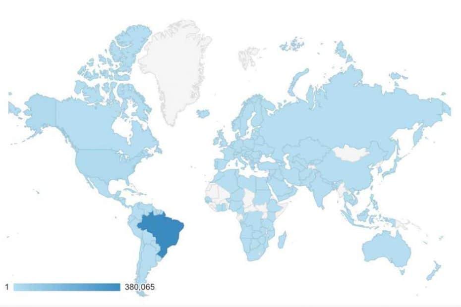 Usuários do mundo todo!